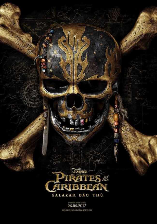 PIRATES OF THE CARIBBEAN: SALAZAR'S REVENGE Movie Poster