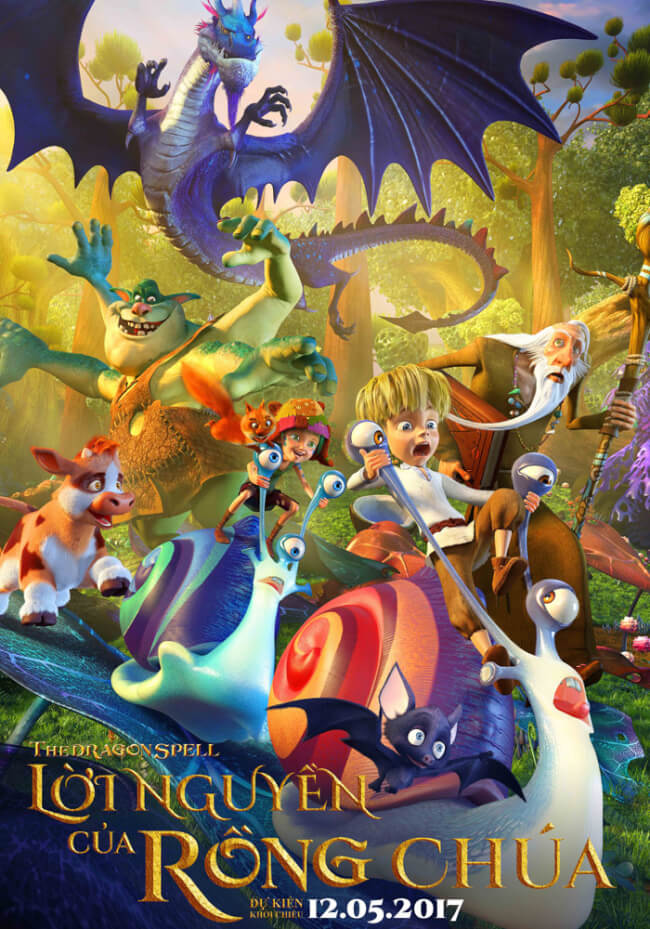 THE DRAGON SPELL Movie Poster