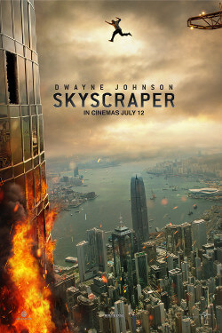 Skyscraper Movie Poster