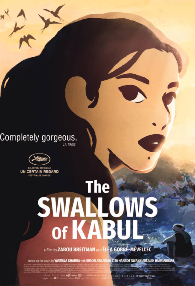 The Swallows Of Kabul Movie Poster