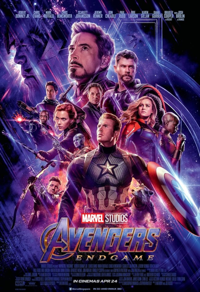 Avengers Endgame 2019 Showtimes Tickets Reviews Popcorn
