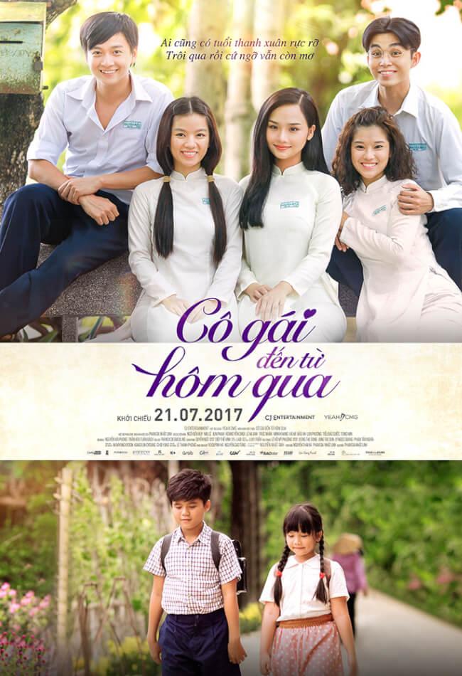CÔ GÁI ĐẾN TỪ HÔM QUA Movie Poster
