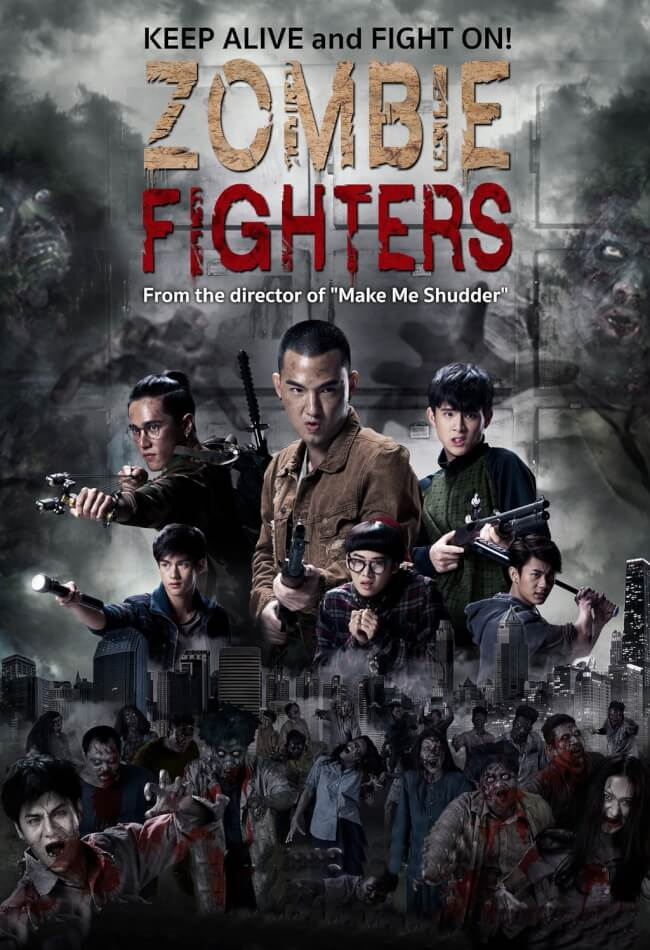 Zombie Fighters Movie Poster