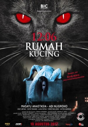 12:06 rumah kucing Movie Poster