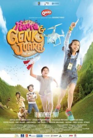 Naura & geng juara Movie Poster