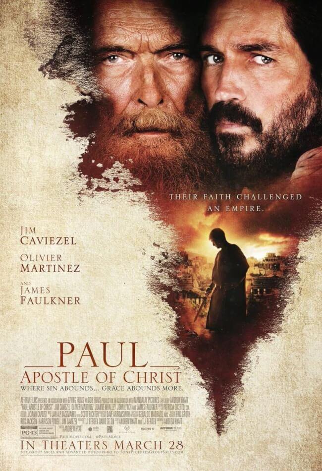 Paul, Apostle Of Christ Movie Poster