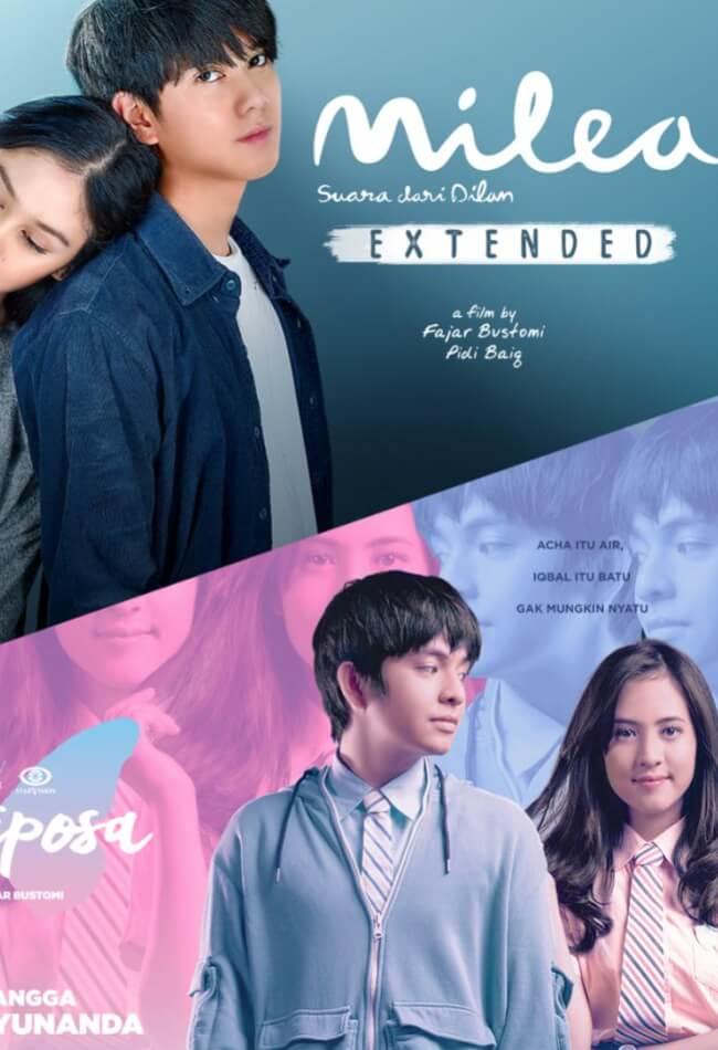 Milea suara dari dilan extended Movie Poster
