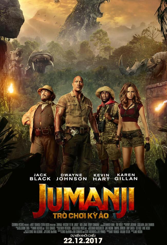 JUMANJI - WELCOME TO THE JUNGLE Movie Poster