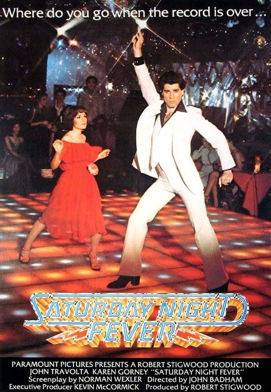 Saturday Night Fever Movie Poster