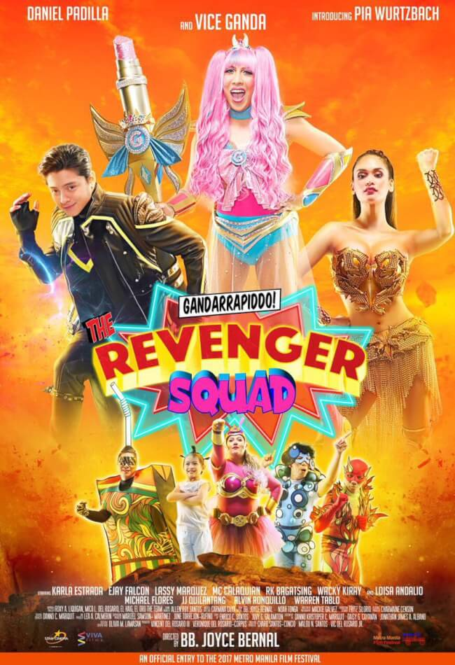 The Revenger Squad Movie Poster