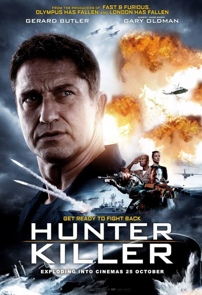 Hunter Killer (2018) Showtimes, Tickets & Reviews | Popcorn Malaysia