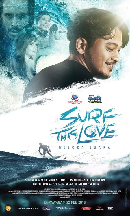 Surf This Love Movie Poster