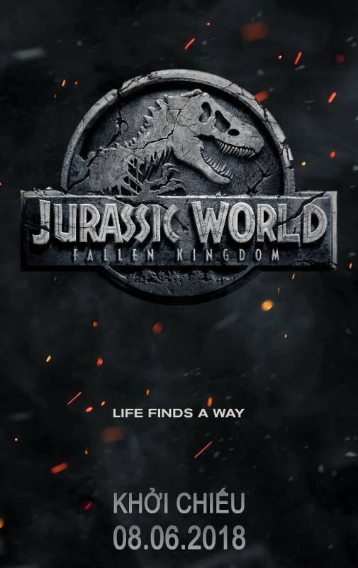 JURASSIC WORLD: FALLEN KINGDOM Movie Poster