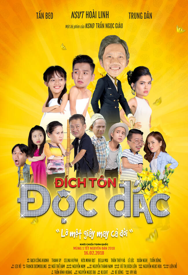 DICH TON DOC DAC Movie Poster