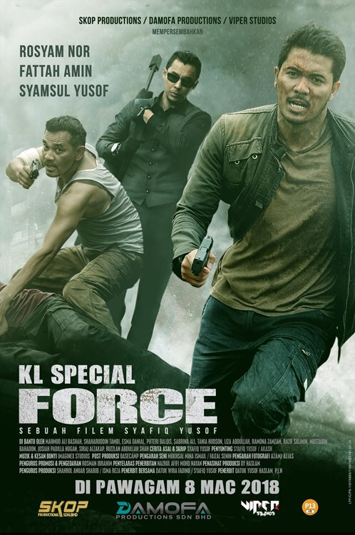 KL Special Force Movie Poster