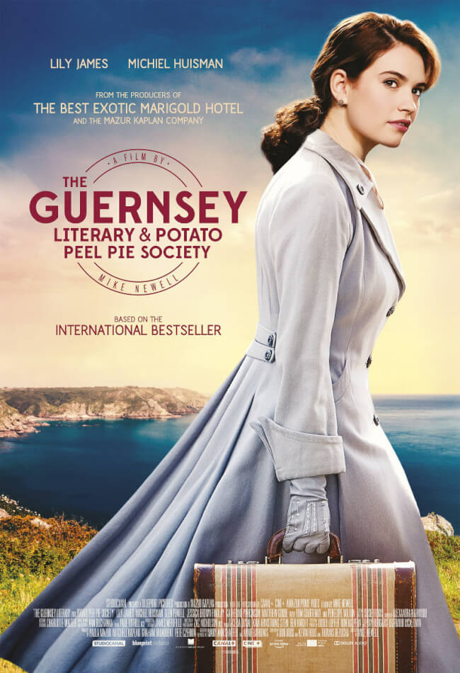 The Guernsey Literary And Potato Peel Pie Society Movie Poster