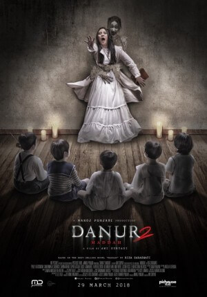 Danur 2 maddah Movie Poster