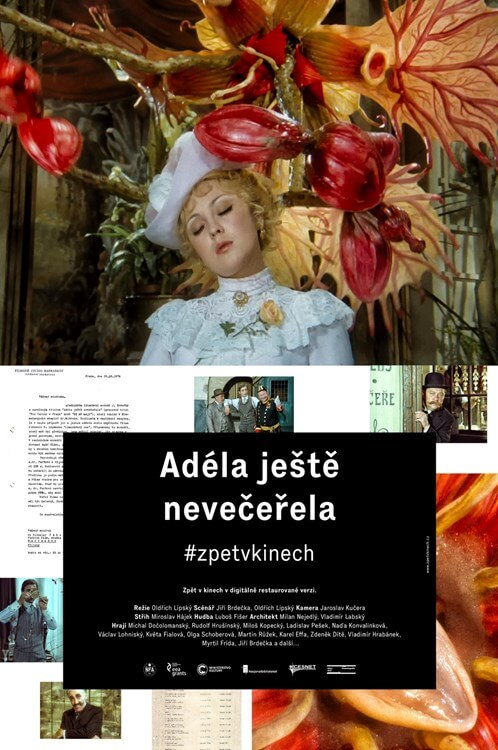 Adela Has Not Had Supper Yet Movie Poster