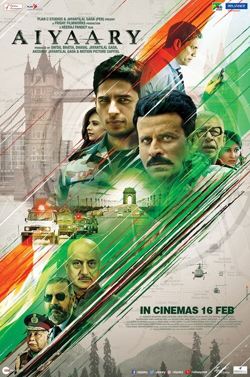 Aiyaary Movie Poster