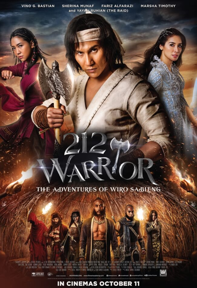 212 Warrior: The Adventures Of Wiro Sableng Movie Poster