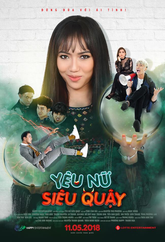 YÊU NỮ SIÊU QUẬY Movie Poster