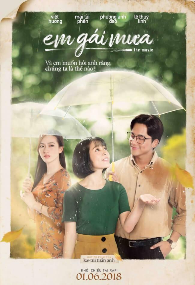 EM GÁI MƯA Movie Poster
