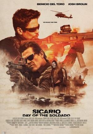 Sicario: day of soldado Movie Poster