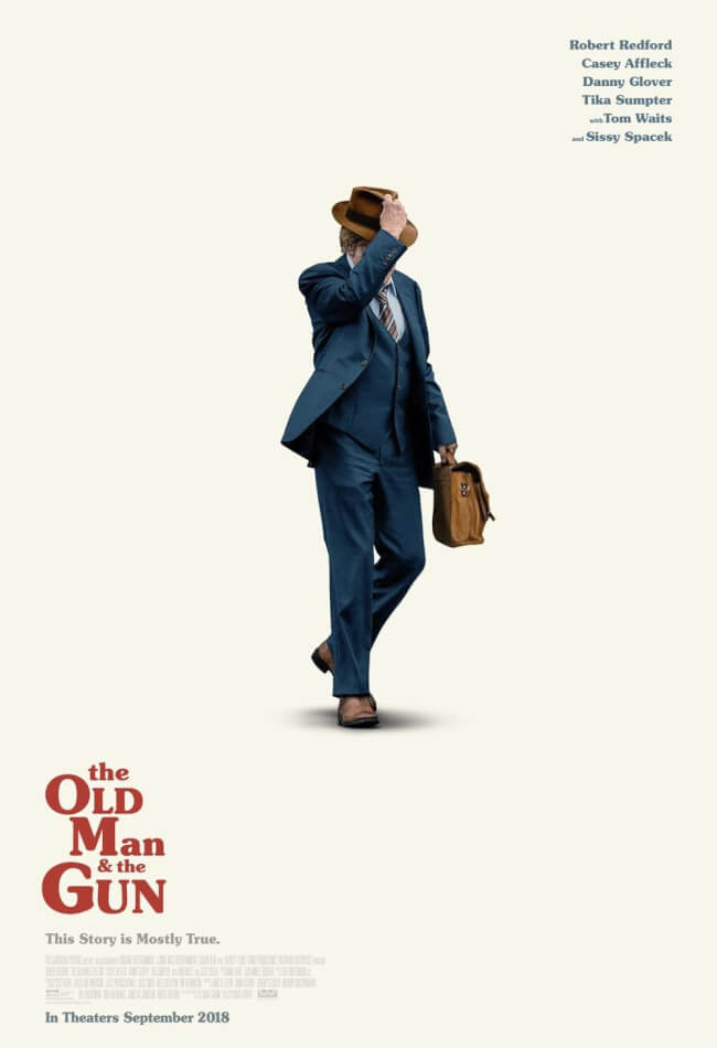 Old Man And The Gun Movie Poster