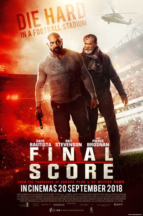 Final Score Movie Poster