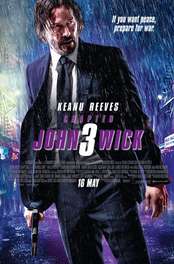 John Wick: Chapter 3 - Parabellum Movie Poster