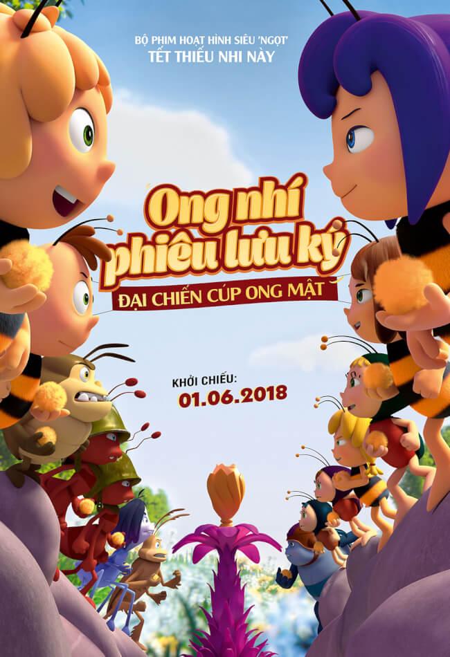 ONG NHÍ PHIÊU LƯU KÝ Movie Poster