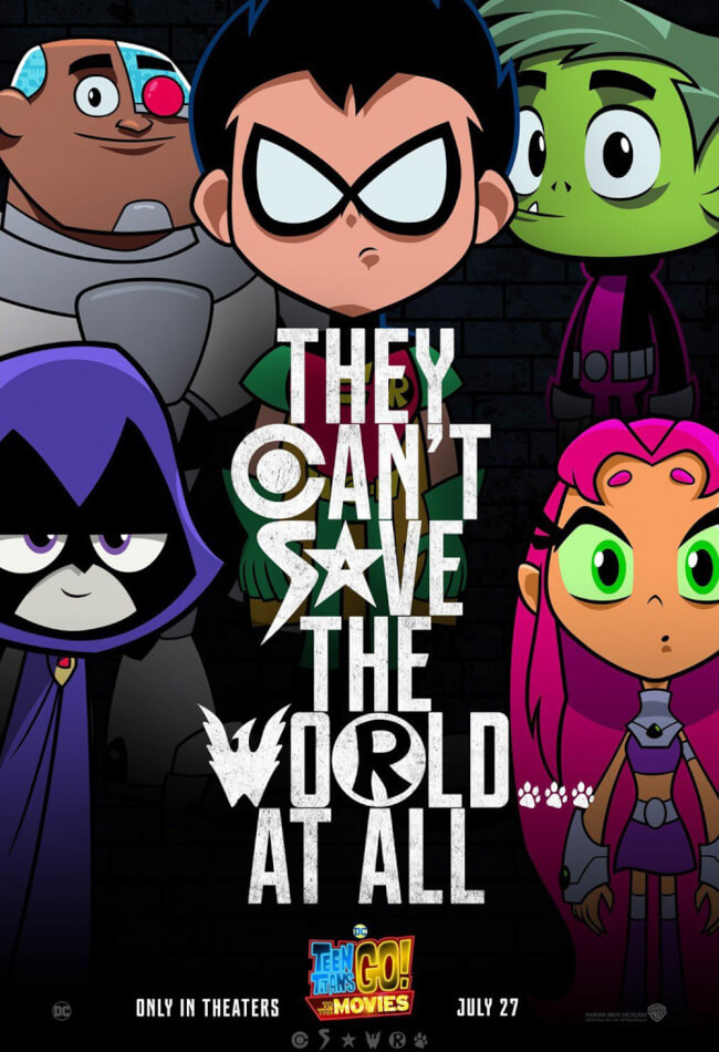 TEEN TITANS GO! TO THE MOVIE Movie Poster