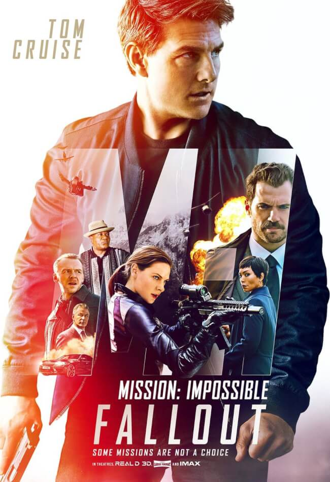 MISSION IMPOSSIBLE: FALL OUT Movie Poster