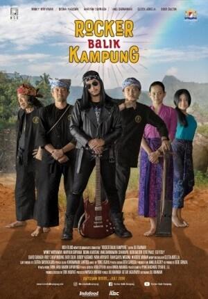 Rocker balik kampung Movie Poster