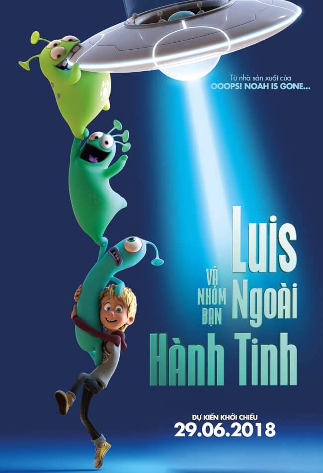 LUIS VÀ NHÓM BẠN NGOÀI HÀNH TINH Movie Poster