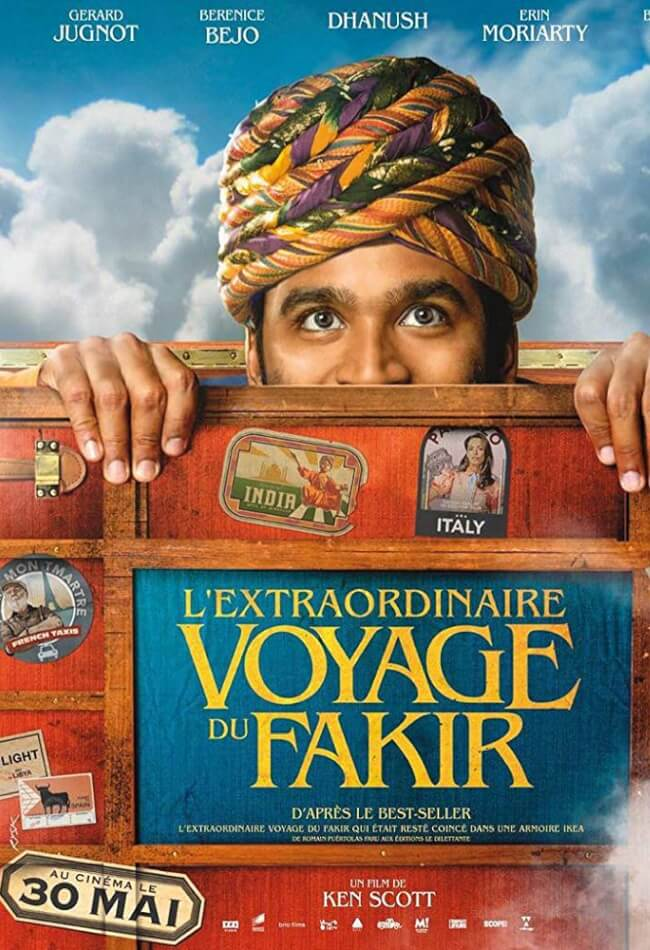 The Extraordinary Journey Of The Fakir Movie Poster