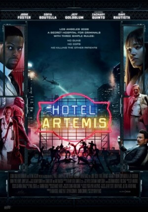 Hotel artemis Movie Poster