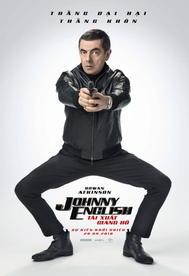 JOHNNY ENGLISH: TÁI XUẤT GIANG HỒ Movie Poster