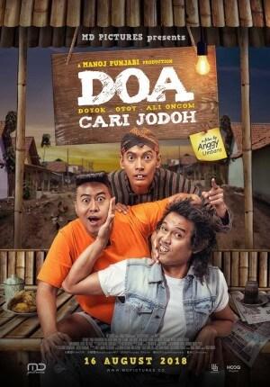 Doa - doyok otoy ali oncom: cari jodoh Movie Poster