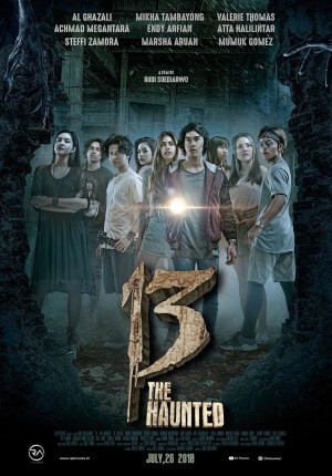 13 the haunted Movie Poster