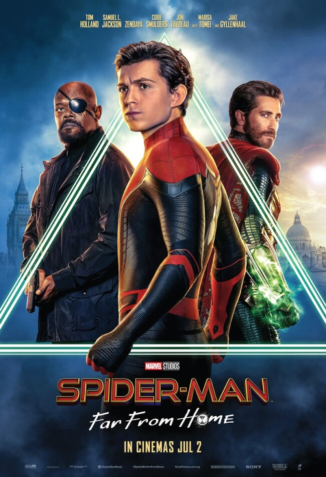 Spider-Man: Far From Home (2019) HDRip 720p English x264 Esubs