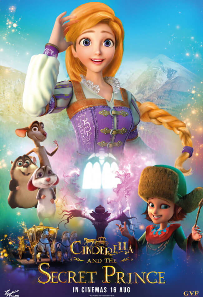 Cinderella And The Secret Prince Movie Poster