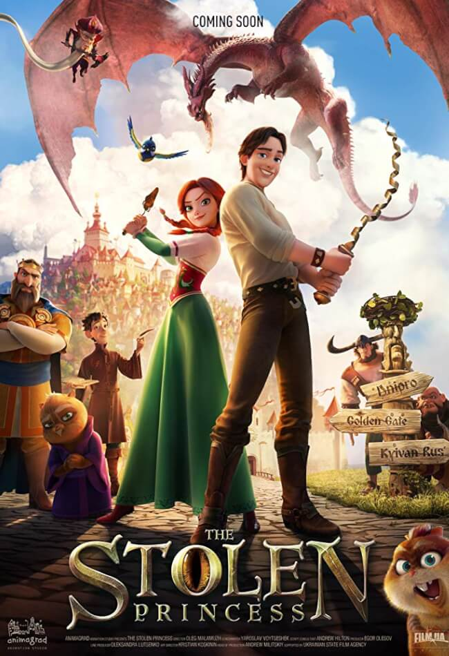 The Stolen Princess Movie Poster