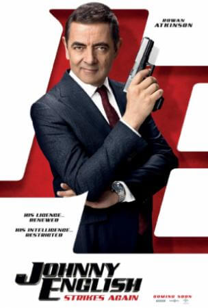 Johnny english strikes again Movie Poster