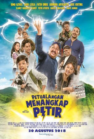 Petualangan menangkap petir Movie Poster