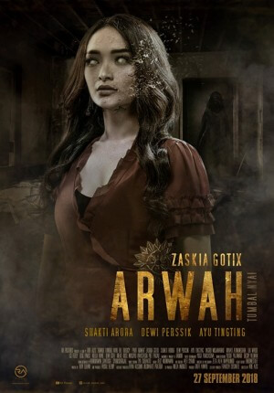 Arwah tumbal nyai: arwah Movie Poster