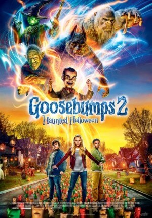 Goosebumps 2 : haunted halloween Movie Poster