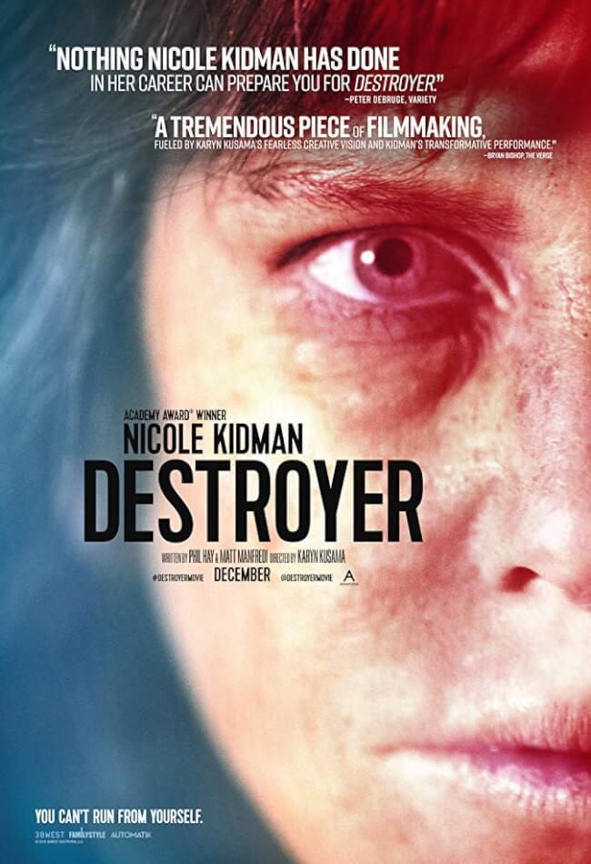 Destroyer Movie Poster