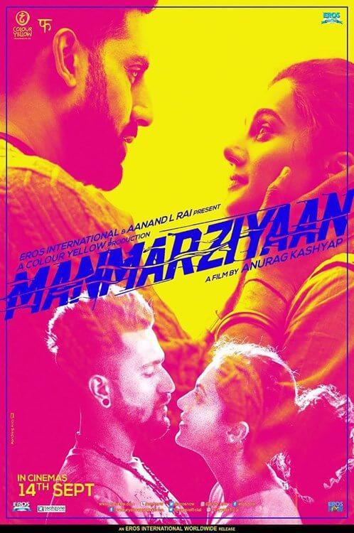 Manmarziyaan Movie Poster