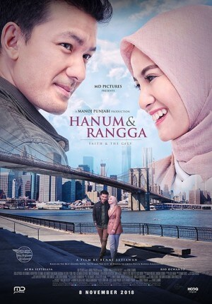 Hanum & rangga Movie Poster